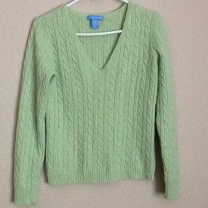 White + Warren Cashmere Sweater Super Soft